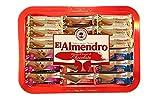 Produkt-Bild: El Almendro - Sortierte Tablettauswahl von Schokoladen-Nougat - Spezielles Weihnachten aus Spanien - 375 Gramm