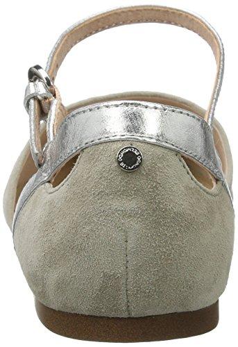 Sandalen Slingback 02 Belmondo Damen Grau grigio 5PWpWnfq1