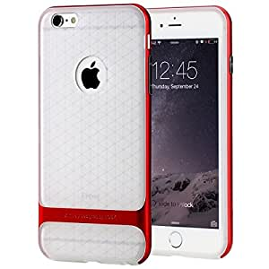 Nakoda Rock Royce 2 Transparent Series Case for Apple iPhone 6 - Red