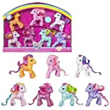My little Pony - 25th Anniversary - Art Design - Birthday Collector 7-Pack - incl. Toola-Roola (Creativity) & Scootaloo (Friendship) & Cheerilee (Beauty) & Pinkie Pie (Joy) & Rainbow Dash (Hope) & Sweetie Belle (Love) & Starsong (Dreams) - OVP