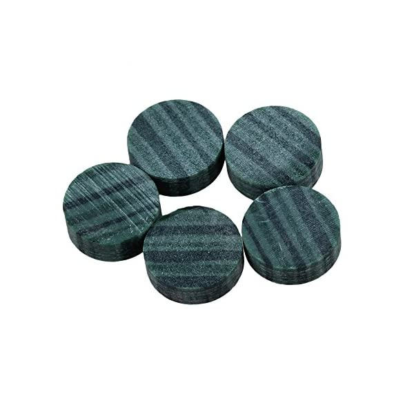 Tappi 6mm Dia rotonda in resina chitarra tasti Pip dots evidenziatore per chitarra in palissandro–Set di 20