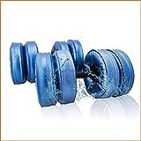 Lamp love 20KG Muscle Fitness Hantel wassergefüllt einstellbar umweltfreundliches Training tragbare...