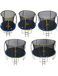 Zero Gravity Ultima 4 High Spec Trampoline with Safety Enclosure Netting and Ladder