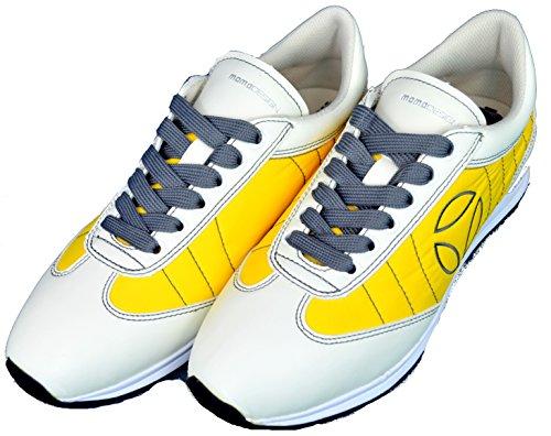 Scarpe Uomo Momo Design Sneackers Men -Giallo-43