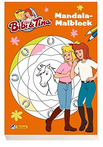 Bibi und Tina: Mandala-Malblock von Theo Schwartz (Juli 2014) Taschenbuch