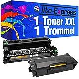 Tito-Express PlatinumSerie 1 Trommel & 1 Toner für Brother DR-3400 TN-3480 L5500DN L6600DW L5000D L5100DN L5100DNT L5100DNTT L5200DW L6250DN L6300DW L6400DW L6400DWTT L5700DN L5750DW L6800DW