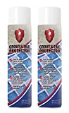 2 X LTP Grout Sealer Tile Protector Spray Can Aerosol 600ml