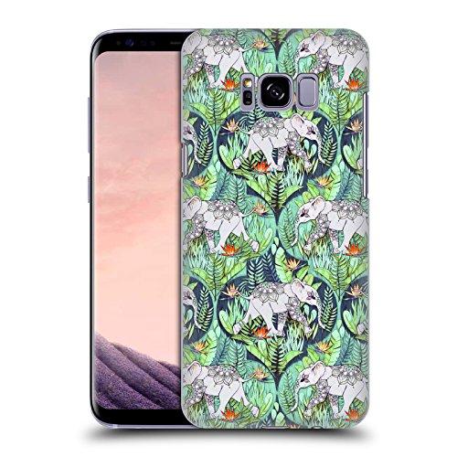 Head Case Designs Offizielle Micklyn Le Feuvre Baby Elefant Und Dschungel-Abenteuer Tiere Ruckseite Hülle für Samsung Galaxy S8+ / S8 Plus