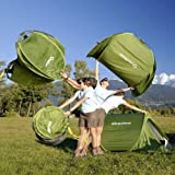 Quechua – 2 Seconds I Wurfzelt grün - 3
