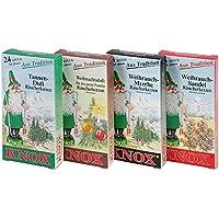 4er Set Knox Räucherkerzen - Tanne, Weihnachtsduft, Weihrauch Myrrhe und Sandel preisvergleich bei billige-tabletten.eu
