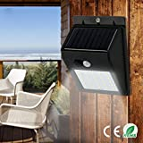 #3: A Z Link LED Solar Power PIR Motion Sensor Wall Light 20 LED Outdoor Waterproof Energy Saving Street Yard Path Home Garden Security Lamp