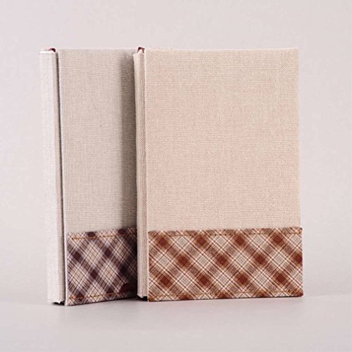 Cloth Hard Cover Notebook Diary Shedule Sketchbook Journal Planner Calendar #B