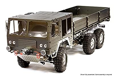 Integy RC Hobby C25853GUN Billet Machined 6X6 7T GL High-Mobility Off-Road Truck 1/10 Size ARTR
