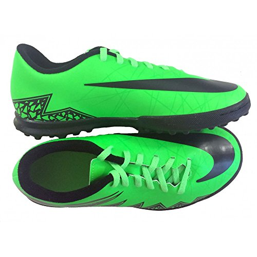 Futsal Shoes Jr. Hypervenom Phade TF Black 15/16 Nike vert
