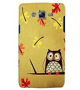Citydreamz Owls/Cartoon/Abstract Hard Polycarbonate Designer Back Case Cover For Samsung Galaxy J5