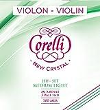 700FB Corelli Crystal Violin Strings 4 / 4 Violin / Fiddle E-Saite Thick Steel