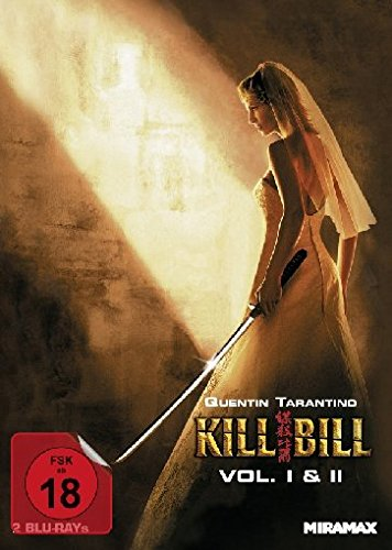 Kill Bill: Volume 1+2 - Mediabook [Blu-ray] [Limited Edition]