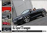 8J SporTTwagen Coupé und Roadster (Wandkalender 2019 DIN A3 quer): TT 8J (Monatskalender, 14 Seiten ) (CALVENDO Mobilitaet)