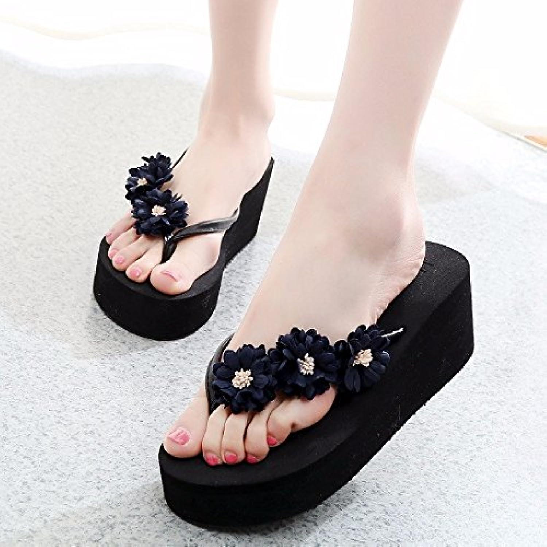 LIUXINDA-XZ Nuevos Productos de Moda española Las Zapatillas de Playa, la señora Sommer, Nueva Moda, Sacar Cooler...