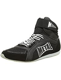 Metal Boxe Viper1 zapatos talla 39, color negro