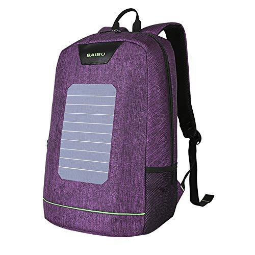 1c233d8528 Zoom IMG-2 nbgb laptop zaino energia 5. Zaino Descrizione:1. Technology:  collettore solare con ...