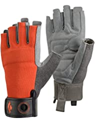 Black Diamond - Crag Half Finger, color naranja, talla XL
