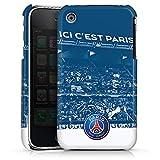 DeinDesign Coque Compatible avec Apple iPhone 3Gs Étui Housse Paris Saint-Germain Produit sous Licence Officielle PSG Parc des Princes
