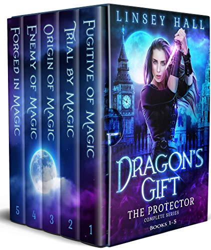 Dragons Gift: The Protector Complete Series: Books 1 - 5 (English ...