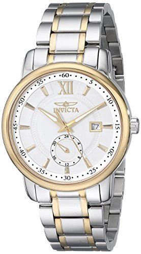 Invicta Men's 18086 Specialty Analog Display Swiss Quartz Two Tone Watch image