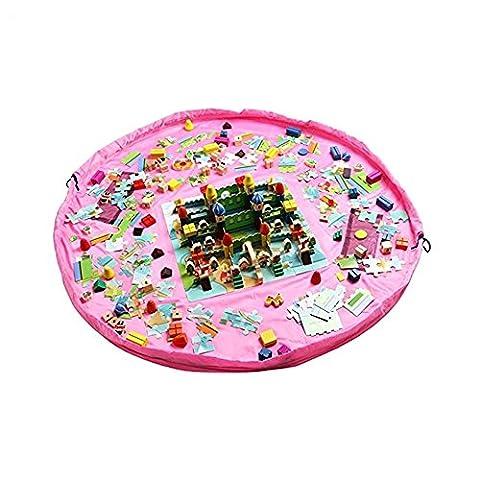 Grande Maison Playmobil - LAAT Tapis de Jeu pour Enfants et