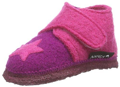 NangaStern - Pantofole Bimba 0-24 Multicolore (Mehrfarbig (Beere 28))