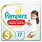 Pampers - Premuim Protection Pants - Couches Taille 5 (11-18 kg) - Paquet (x17...