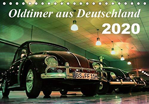 Oldtimer aus Deutschland (Tischkalender 2020 DIN A5 quer)