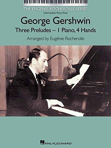 Gershwingeorge the best amazon price in savemoney george gershwin three preludes 1 piano 4 hands intermediate piano duet fandeluxe Images