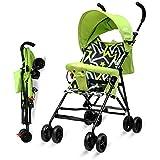 Little Pumpkin - Baby Stroller and Pram for Baby - Buggy for Kids (Green)