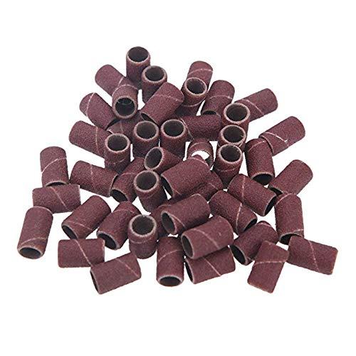 OVVO Schleifen Bands, Nagel Bohren 80 120 180 Schleifbänder Maschine Ersatz Bits Pediküre Maniküre Werkzeuge (Ca. 150 Stücke)