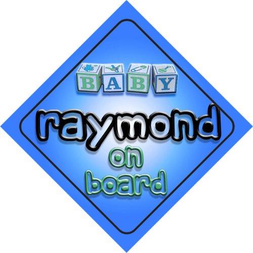 raymond-bebe-garcon-sur-planche-nouveaute-voiture-panneau-cadeau-cadeau-pour-nouveau-nouveau-ne-bebe