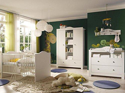 Luxus – Babyzimmer Luca 1 Weiss/Weiss | Baby-Ratgeber.net