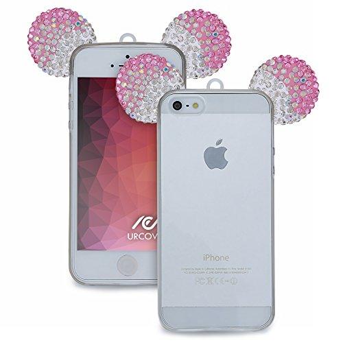 urcoverr-etui-souris-oreilles-mouse-tpu-apple-iphone-se-5-5s-silicone-in-fuchsia-argent-back-cas-hou