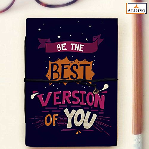 ALDIVO Handmade Diary/Notebook (10 x 14 cm)