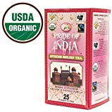 Pride Of India - Organic Stress Relief Tea, 25 Count (1-Pack): BUY 1 GET 1 FREE (2 BOXES TOTAL)