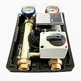Heizkreisset Heizkreispumpengruppe m. 3 Wege Mischer Stellmotor Hocheffizienzpumpe WILO YONOS PARA 25/6, 130mm, Anbindesystem DN25