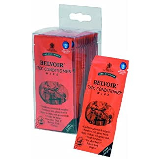 Belvoir Tack Conditioner Wipes - 15 Pack Equine Horse 7
