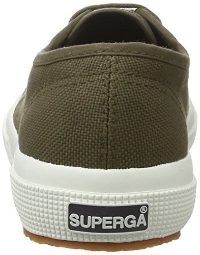 Superga 2750 Jcot Classic, chaussons d'intérieur mixte enfant Grün (MIL.Green)