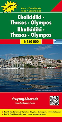 Chalkidiki - Thasos - Olymbos T10 f&b (+r) par Freytag & Berndt