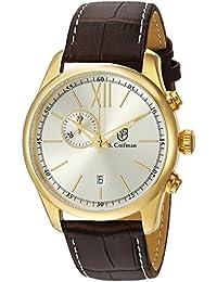 S.Coifman SC0372 - Reloj de pulsera hombre, color Marrón