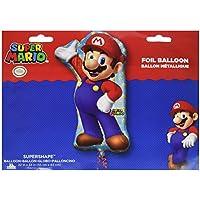 Amscan – 3201001, juego de decoración Super Mario Super forma, ...