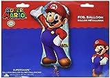 Amscan 320100122x 84cm Super Mario Super Form Dekoration Set