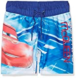 NAME IT Baby-Jungen Badehose NITCARS LIEF Shorts Swimwear MZ, Mehrfarbig (Mazarine Blue), 86