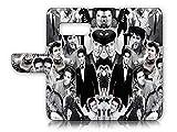 Elvis Presley A21629 Étui à Rabat avec Film Protecteur d'écran pour Samsung S10+/Galaxy S10 Plus